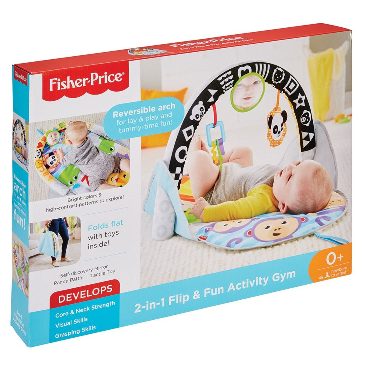 Fisher Price Активна гимнастика 2в1