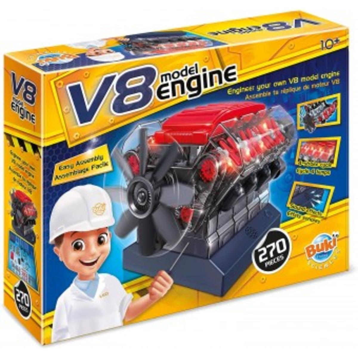 Buki V8 Двигател