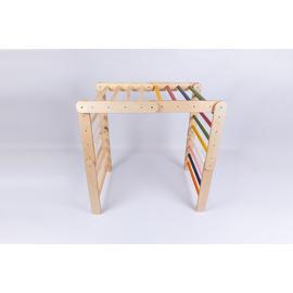 Пързалка/стена за катерене 6 рамкови елемента